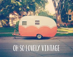"Oh So Lovely Vintage: A little shop sneak peek... the shop is called ""Rhymes with Orange""."