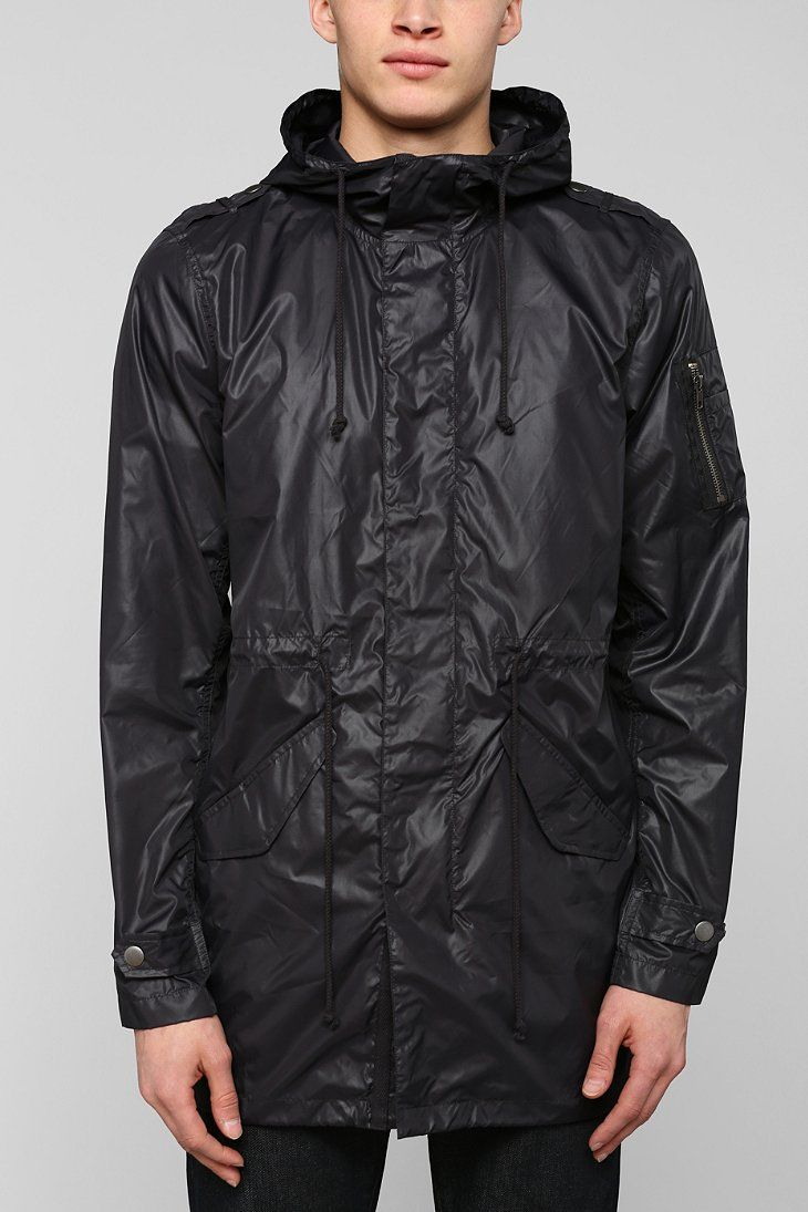 Charles & 1/2 Nylon Fishtail Parka | Things I'll probably never ...
