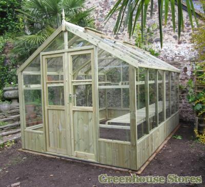 Swallow Raven 8x12 Wooden Greenhouse