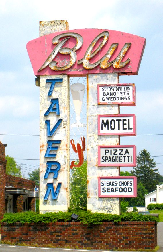 4132 best signs lettering images on pinterest a frame signs blu tavern pottsville pa sciox Gallery