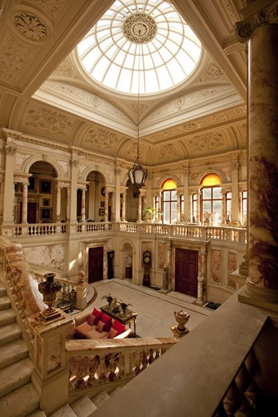 Gosford House, East Lothian. Robert Adam design