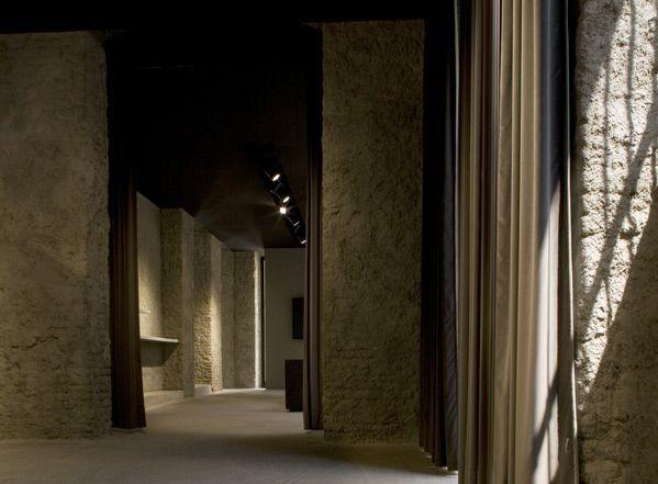 Glenn Sestig's Les Hommes Milan showroom.