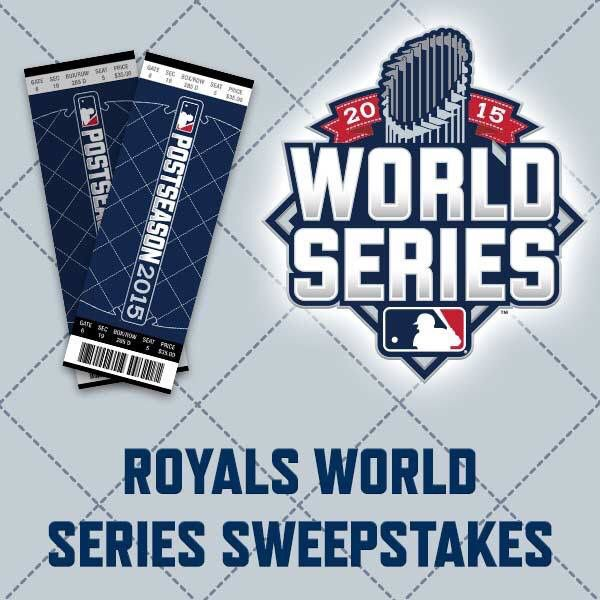 In honor of our local ball team we are giving away a pair of tickets for game 1 of the #WorldSeries between the #kcroyals and the #nymets! Rules on our site :)