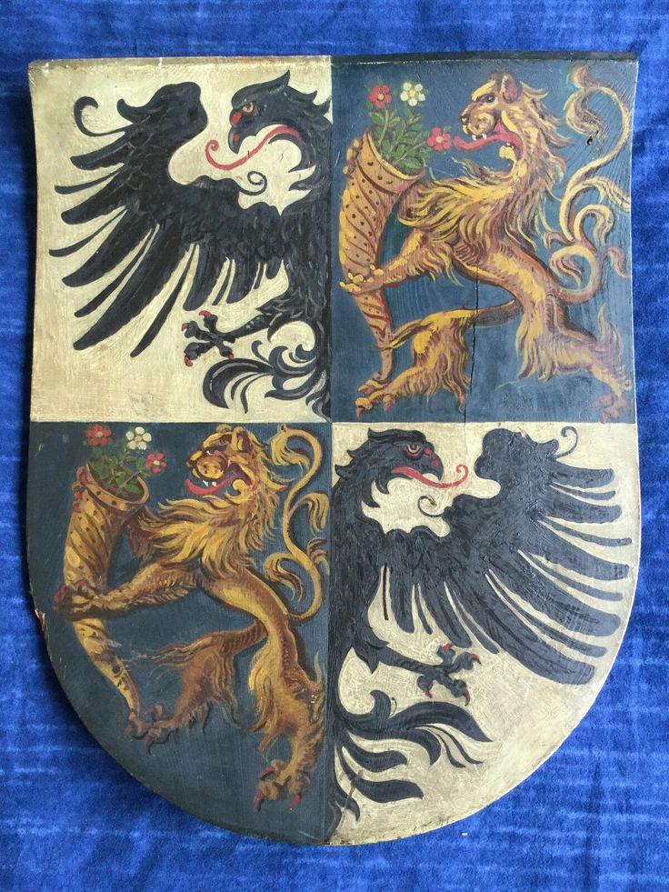Wappen - Adelswappen / Heraldic Shield of German Noble Family / Escudo Heráldico de la Nobleza Alemana