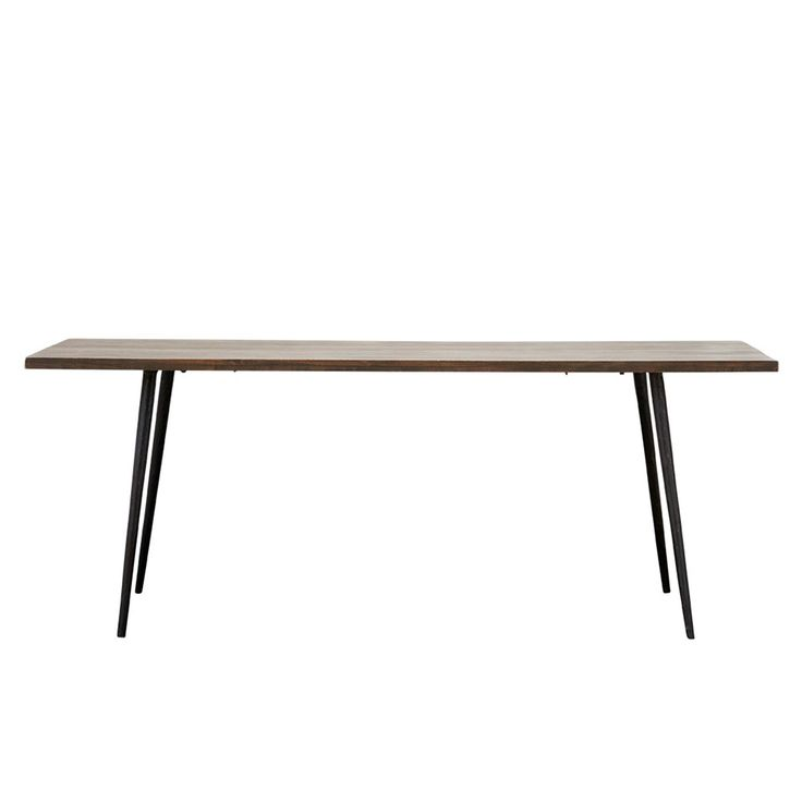 CLUB Dining Table 80x200cm, Blackstained, 180