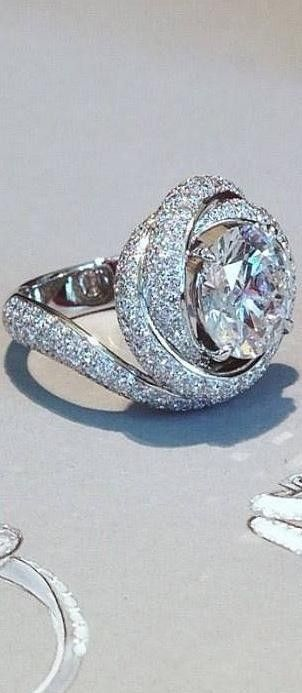 Cartier diamond ring. -- 35 Pieces of Gorgeous Jewelry @styleestate