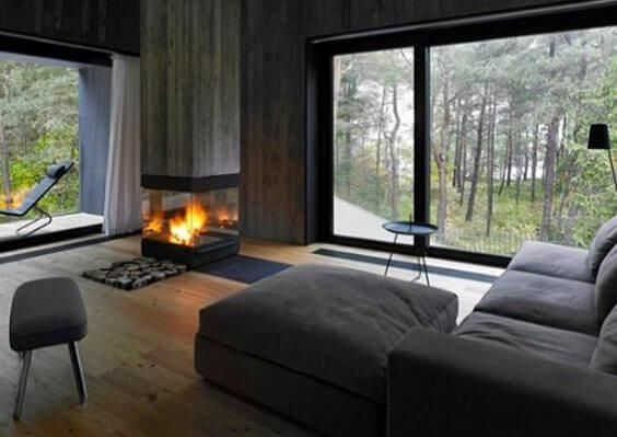 merge printing and building in a pretty prefeb package | @meccinteriors | design bites | #livingroom #prefab #tinyhome