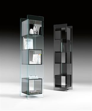 Magique Totem Glass Cabinet From Fiam