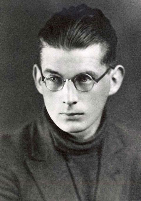 Samuel Beckett as a very serious 14-year-old.