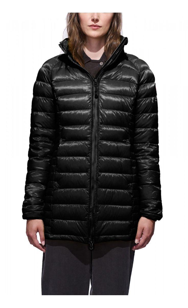 Canada Goose Brookvale Hooded Coat Black Women - Canada Goose #canadagoose #women #parka #lifestyle #jacket #outlet
