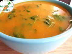 Receitas de sopas: Sopa de legumes com agriões