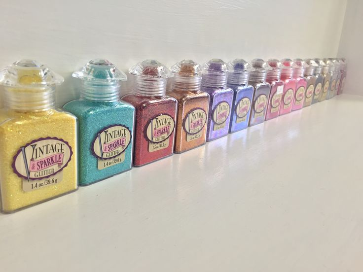 Wow! what beautiful glitters and in yummy bottles too.. what more could a girl want!