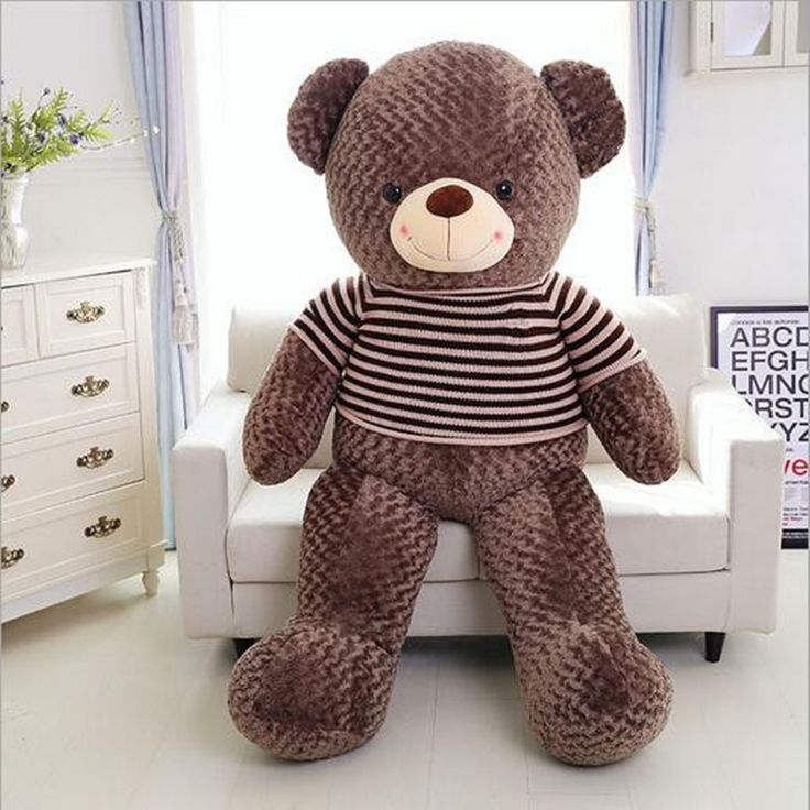 120cm Teddy Bear Hull Plush Toys, Teddy Bears Hull. Large Animal Coat  Wholesale There Is No Filling Free Delivery