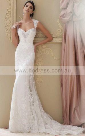 Sheath Square Empire Sleeveless Floor-length Wedding Dresses wbs0231
