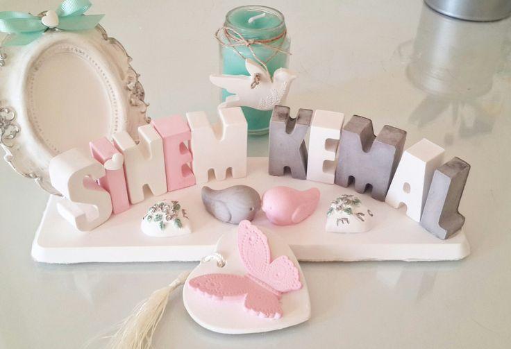 Dogum hediyelikleri,isimlik ve doğum panoları için instagram hayal_dunyasi_kokulutas sayfama beklerim.