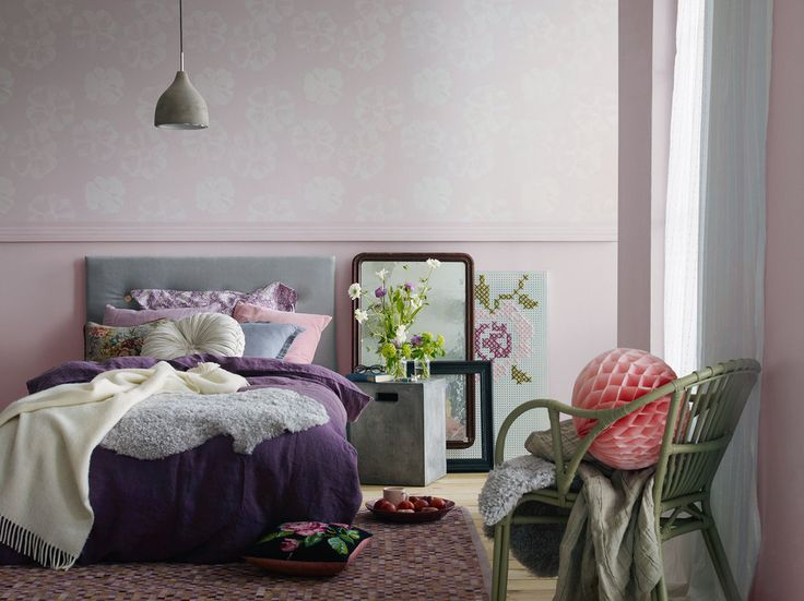 Tikkurila Duett Dream Bubble Gum - aranżacja