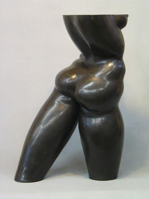 """""""POISED""""    ceramic                                           by Klaus Dusselberg"""