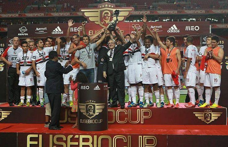 Troféu Copa Eusébio 2013 SPFC 2 X 0 Benfica (POR)