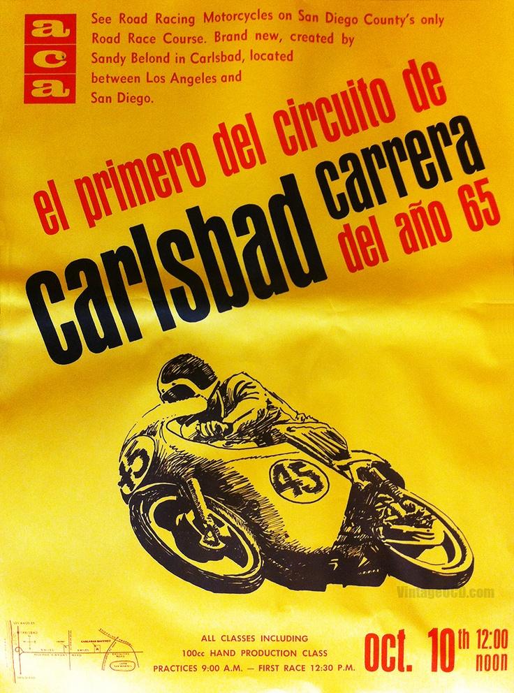 Vintage Moto Poster