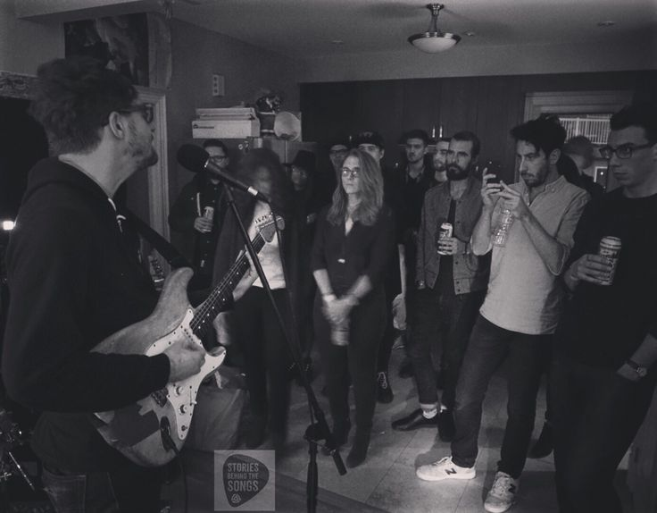 Astral Swans on the Madic House Concert tour - Toronto, 2015. #astralswans #madicrecords #toronto #livemusic #houseparty #SBTSLive