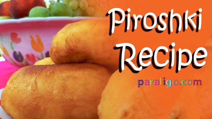 Delicious Piroshki recipe by paraligo! www.paraligo.com