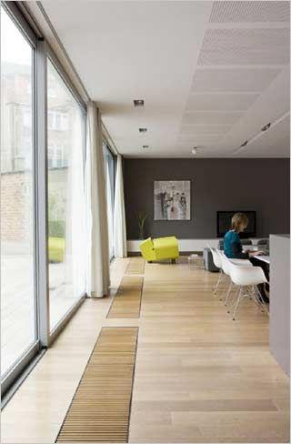 open haard met verlichting op de schouw door kove interieurarchitecten