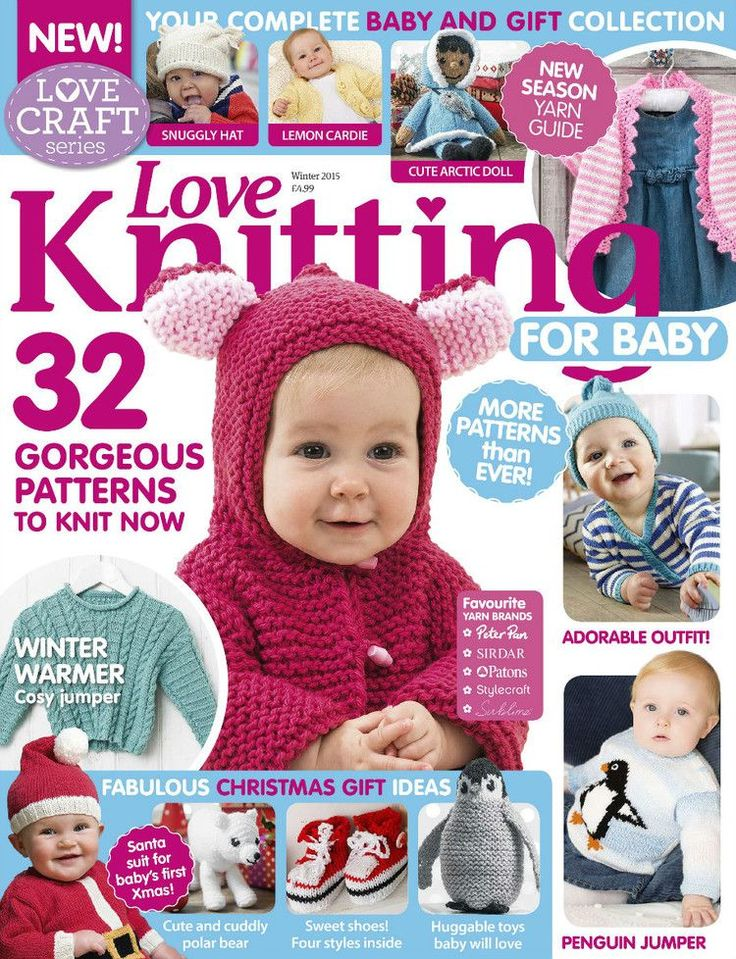 Love Knitting for Babies Winter 2015 - 轻描淡写 - 轻描淡写