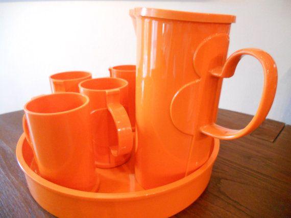 Dansk Plastic Mugs Vintage - Quality Porn-5233