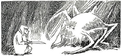 Tove Jansson Hobbit Illustration 4 - Mirkwood Spider