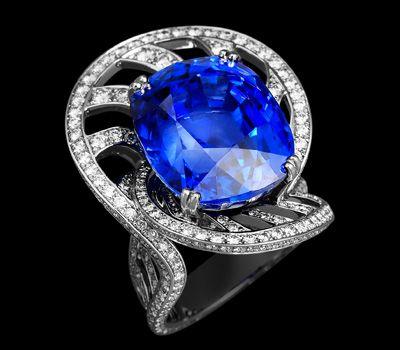 Diamant Bleu : Pierre Précieuse Bleue