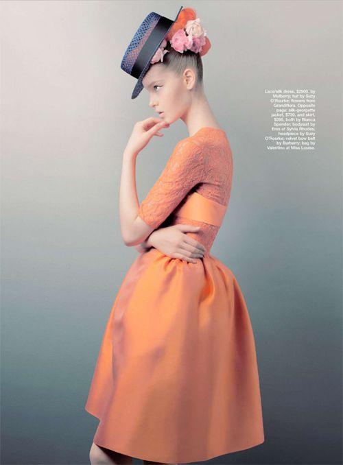 Jemma Baines | Troyt Coburn | Marie Claire Australia November 2012 | Who's ThatGirl