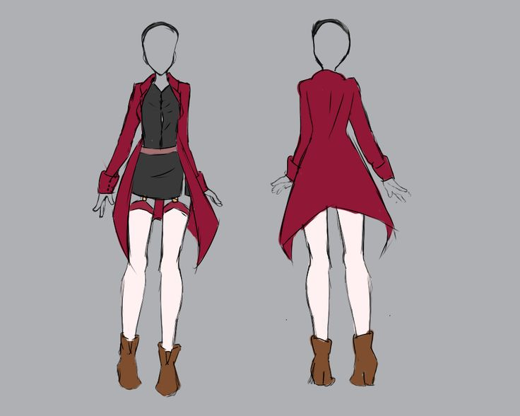 stunning anime outfits sweater 8