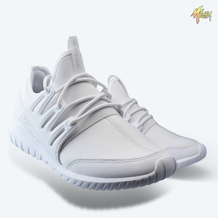 The adidas tubular radial features a comfortable and breathable  construction all atop the famed tubular outsole