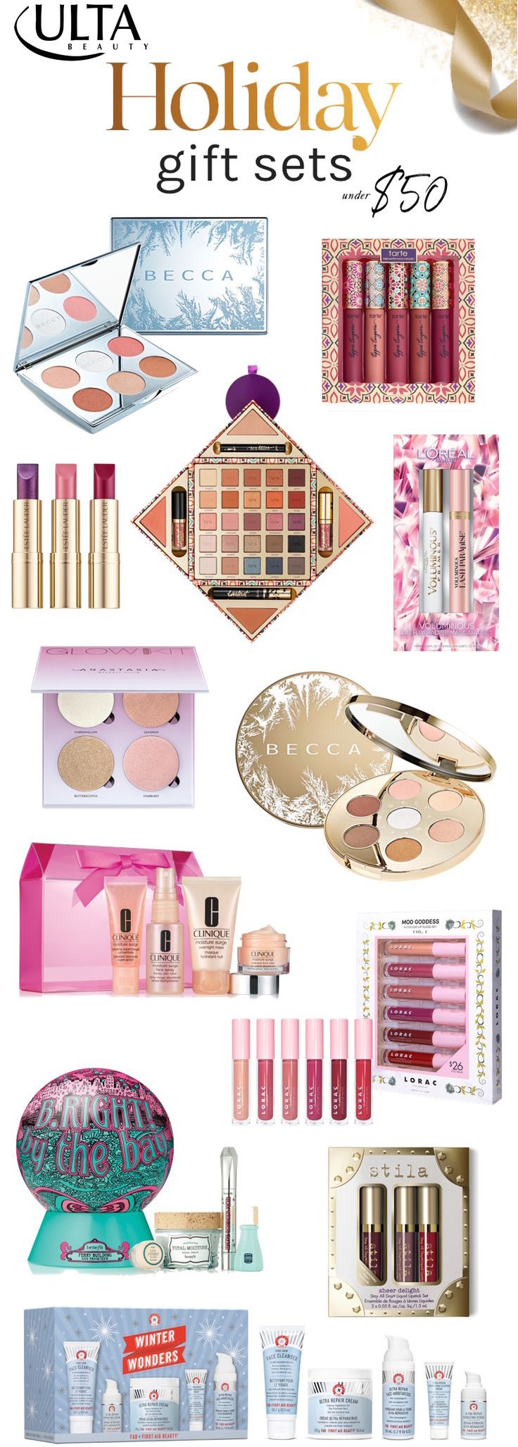 The must-have holiday 2017 makeup gift sets at Ulta Beauty | Click through to see the full list of Ulta Beauty goodies you'll want to add to your holiday list ASAP!