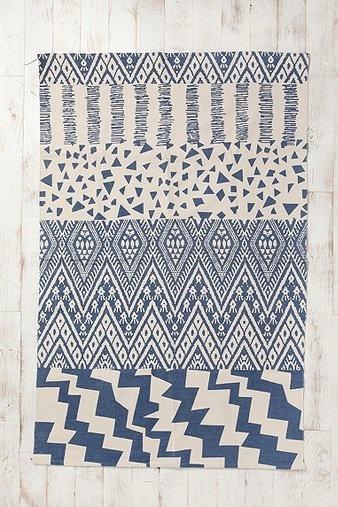 Loving this rug! UrbanOutfitters.com > 4x6 Zigzag Mashup Rug