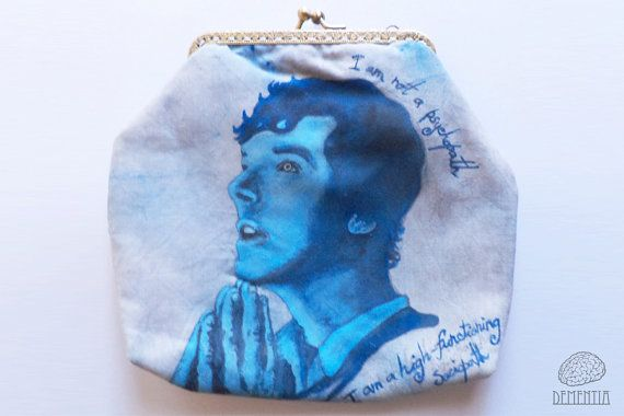 Sherlock Pouch, Small Bag,  Case, Handbag
