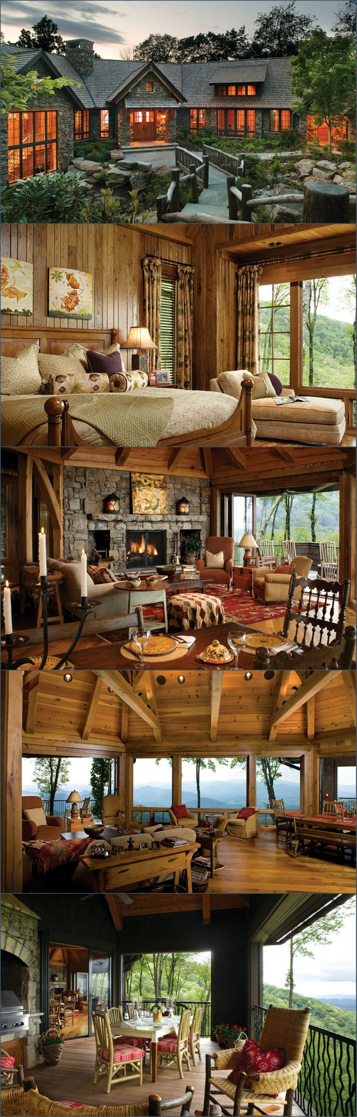 Mountain Air Family Lodge - Style Estate -
