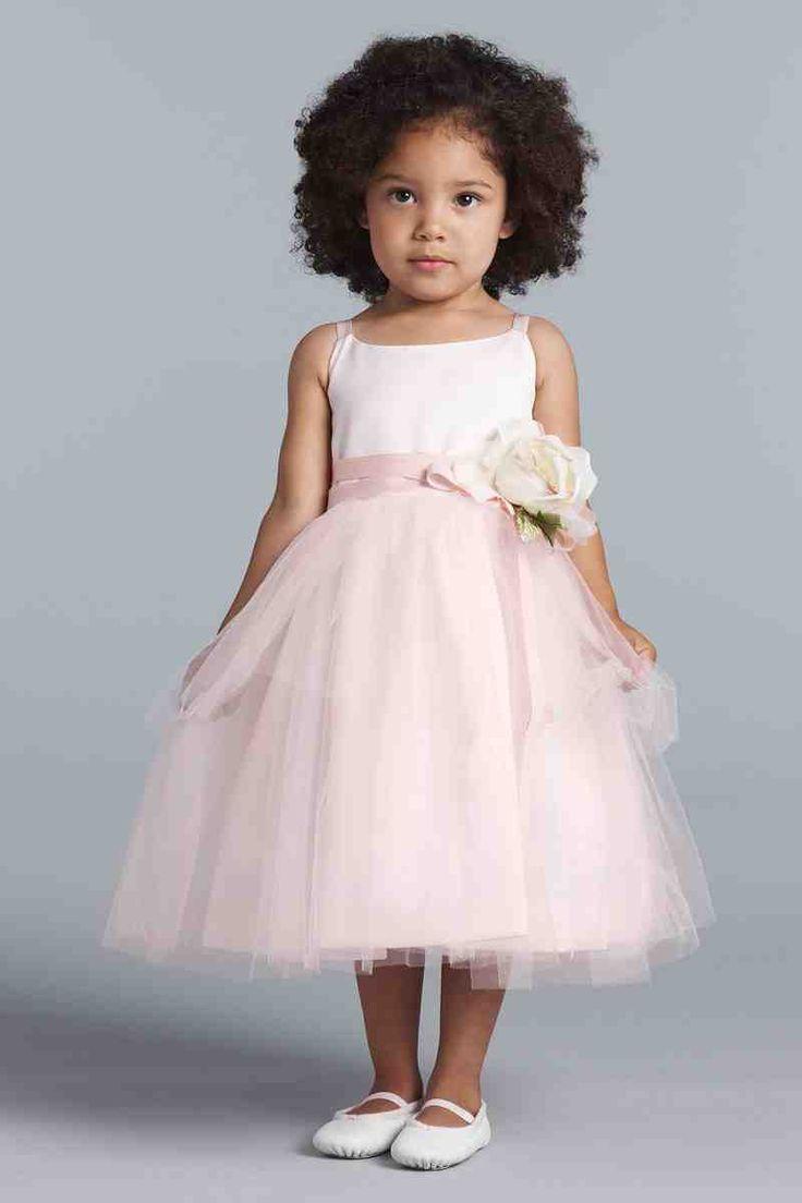 16 best pink flower girl dresses images on Pinterest | Girls dresses ...