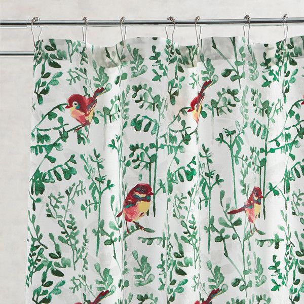 Pier 1 Imports Winter Birds Shower Curtain 35 Liked On