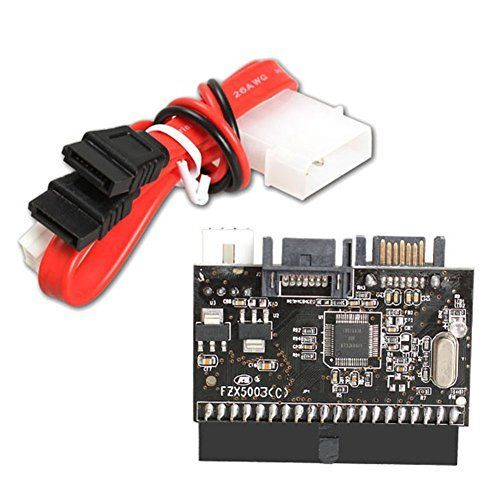 Chinatera 2 in 1 IDE to SATA /SATA to IDE Drive Interface Converter Adapter Support ATA 100 133
