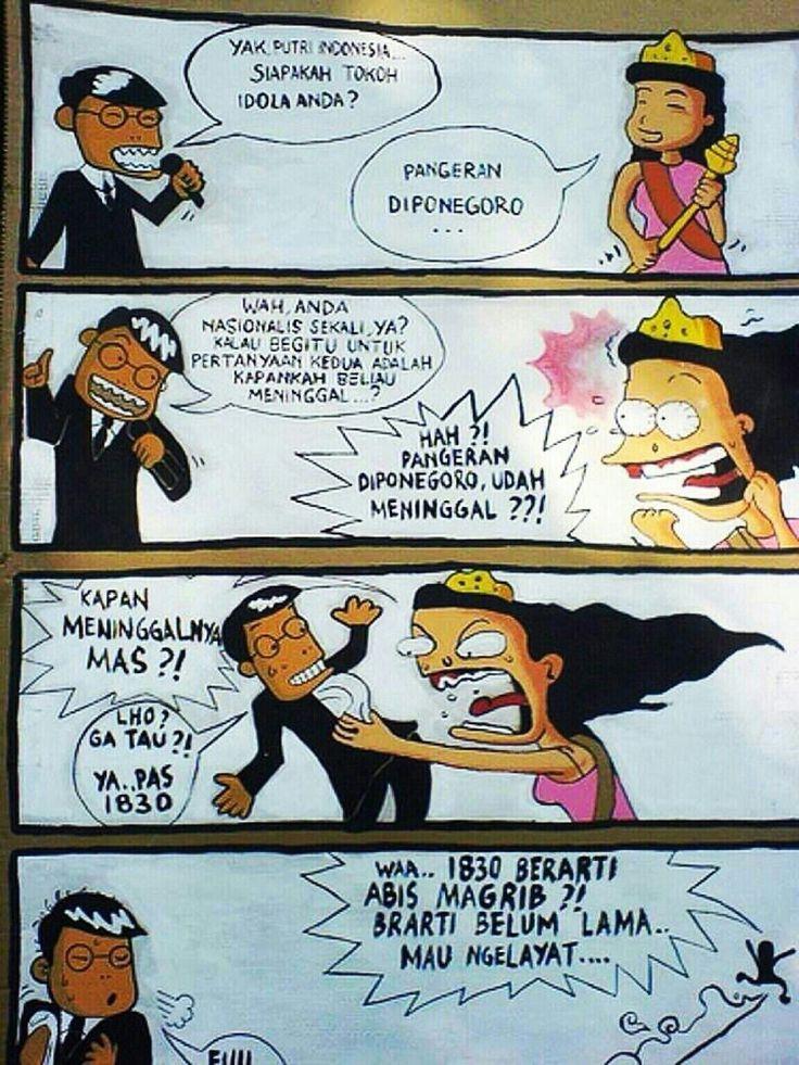 Putri indonesia versi sarap Lucu, Terlalu lucu, Funny