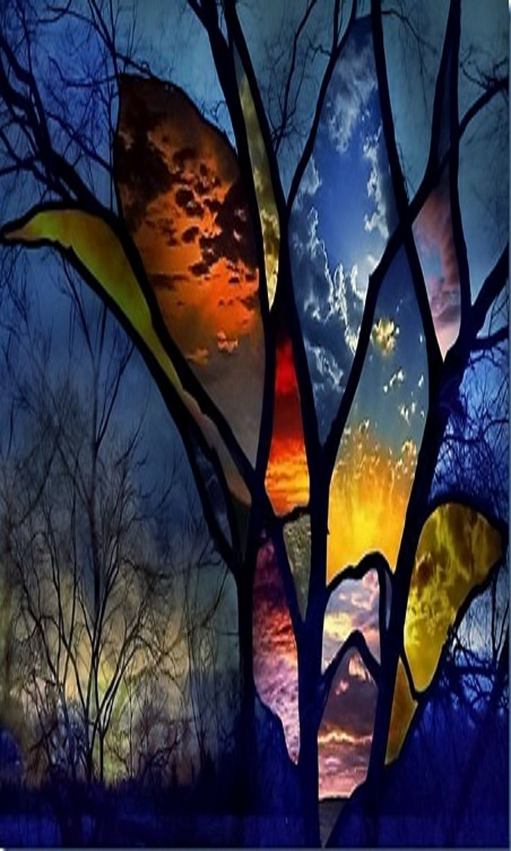 Amazing stained glass window!