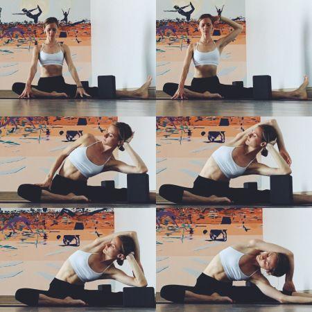 yin yoga  meridians  lateral stretch con immagini
