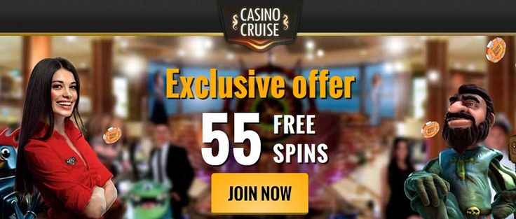 casino cruise exclusive welcome bonus and no deposit free spins