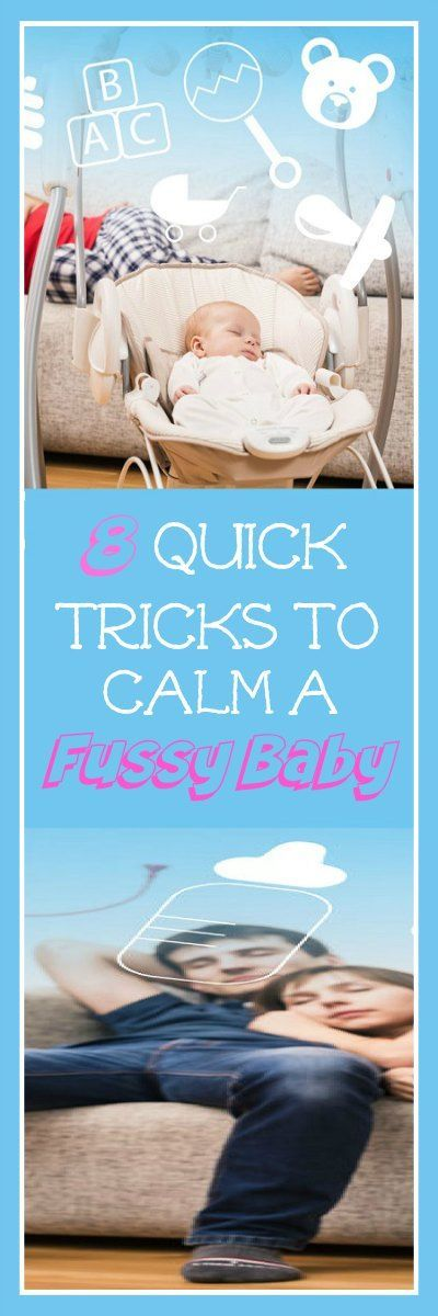 Dealing with a fussy baby? Here are some tips and tricks to try to calm and soothe your baby and make life a little easier.