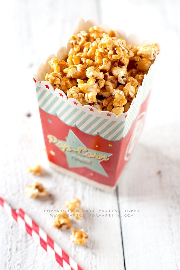 Popcorn al caramello, come quelli del cinema e qualche classifica dei film cult della mia vita
