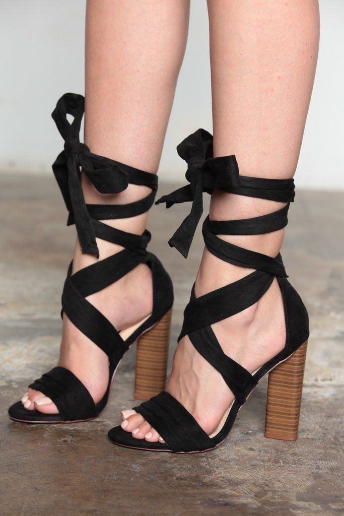 I love the straps, just not the wooden heel