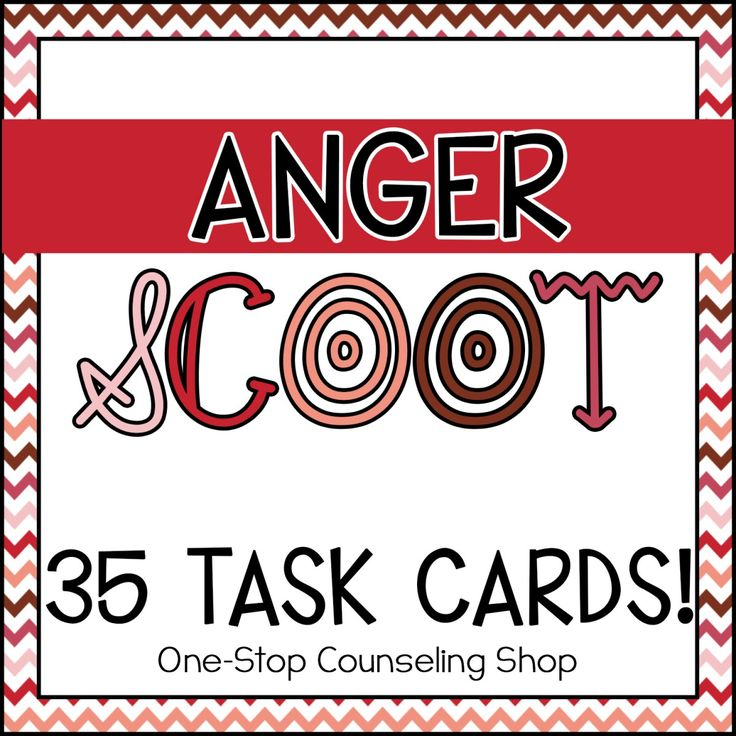 Great game to help students learn #anger management and #coping skills!