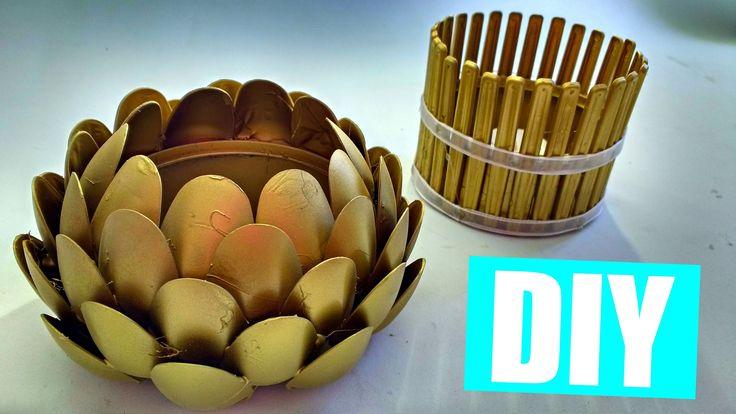 ♥ Como hacer portavelas con LATAS DE ATÚN! 2 ideas - Manualidades Ani Crafts - http://cryptblizz.com/como-se-hace/%e2%99%a5-como-hacer-portavelas-con-latas-de-atun-2-ideas-manualidades-ani-crafts/