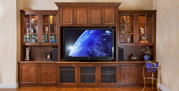 13 best images about entertainment centers on pinterest for Media center built in ideas